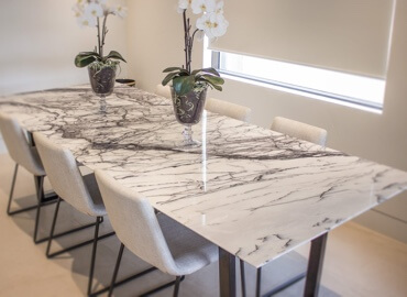Marble Tables/Chairs